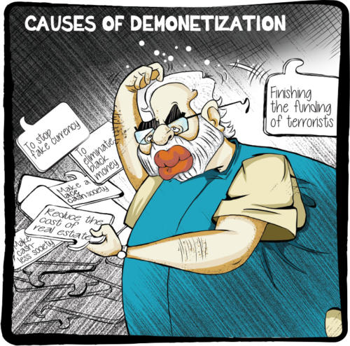 Causes Of Demonetisation